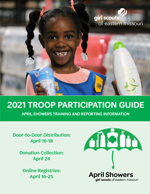 April Showers Troop Participation Guide