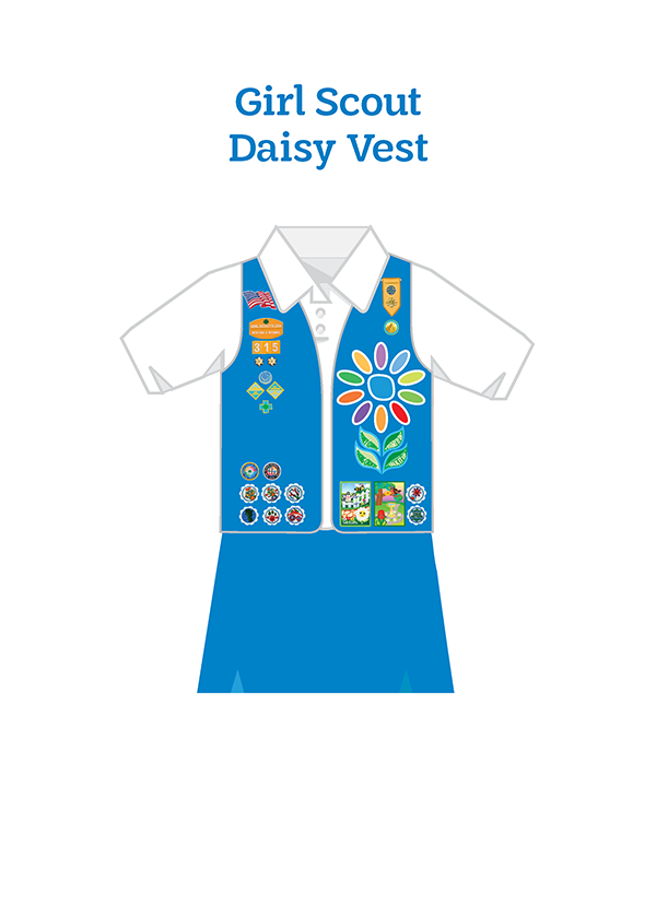 Girl Scout Daisy Tunic