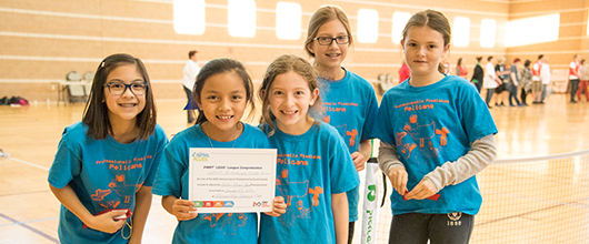 Visitation Academy Girl Scout Robotics Team Advances To State Tournament